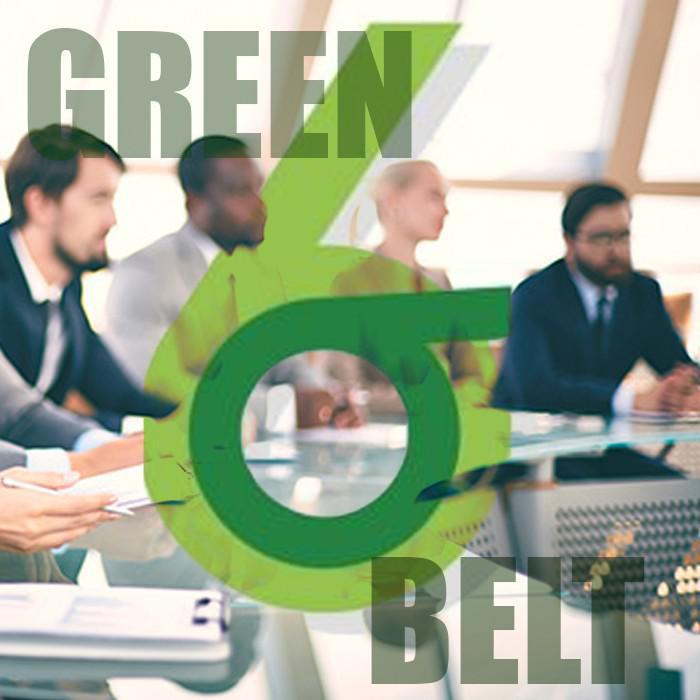 Certificação green belt preço